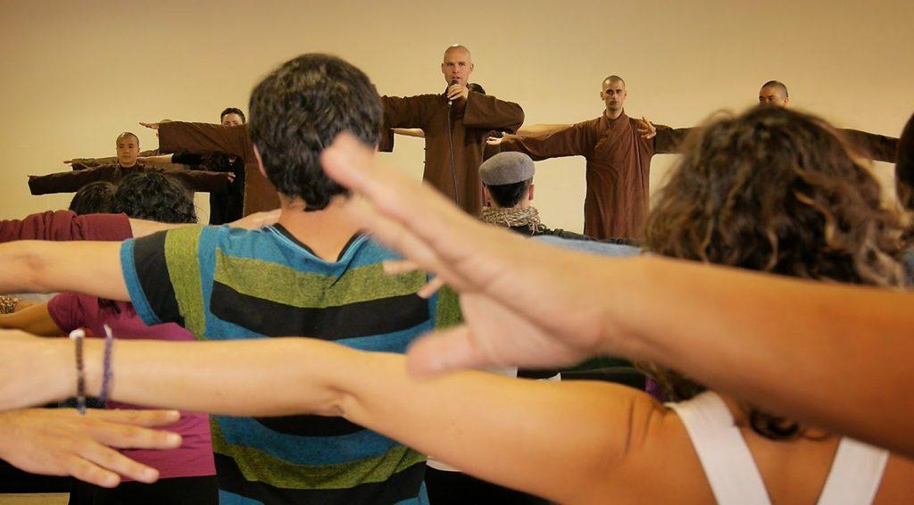 Wake Up tour in Latin America with monastics