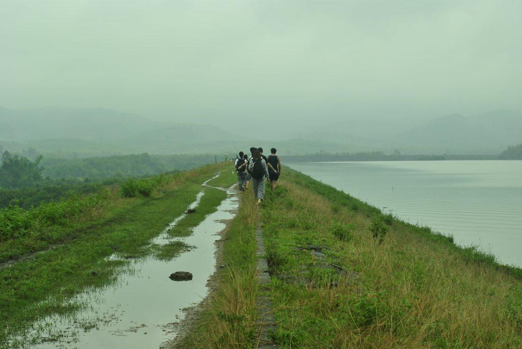 Enjoying the countryside in Quang Nam