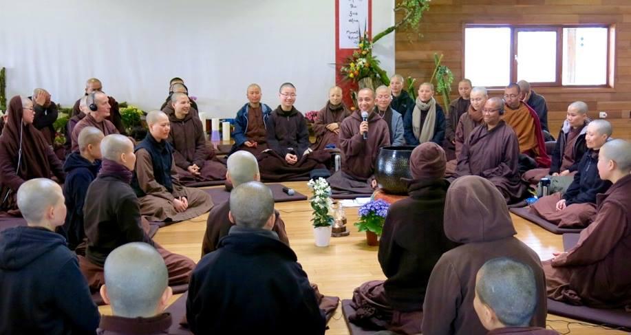 Monastic retreat 2016
