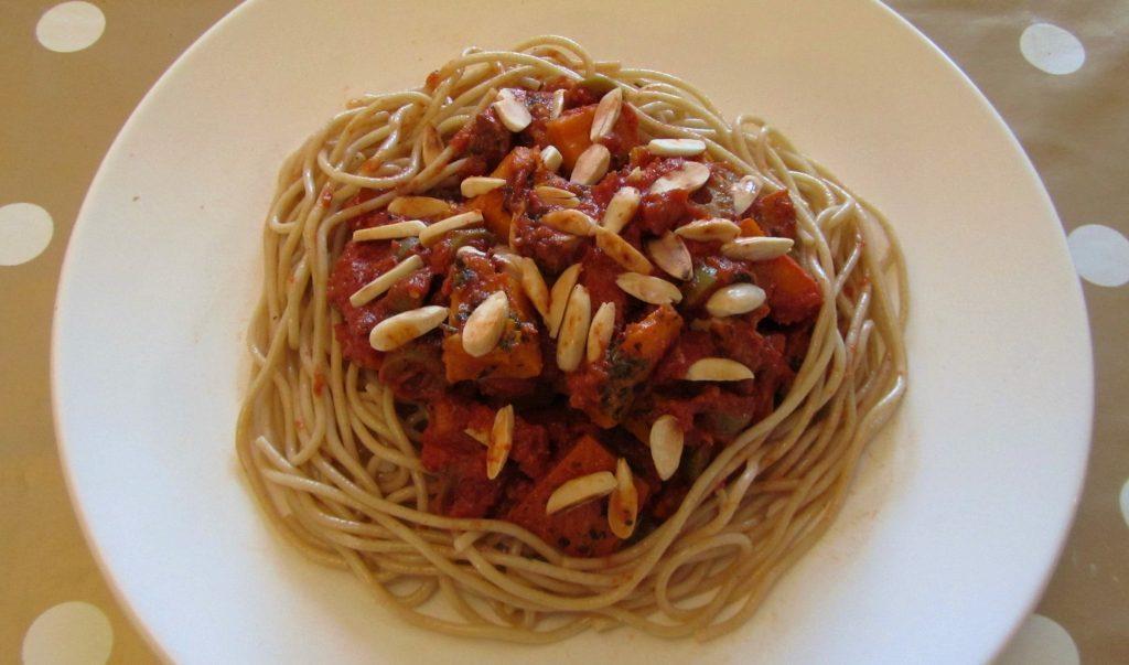 Amazing Autumn Spaghetti