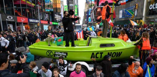 Extinction Rebellion in New York